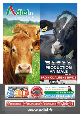 Catalogue production animale 2018 Adiel France