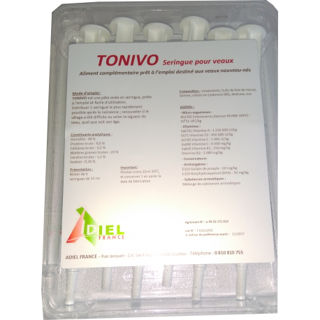 TONIVO SERINGUE COLOSTRUM