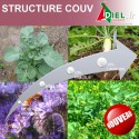 STRUCTURE COUV SAC 25 KG