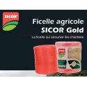 FICELLES AGRICOLES SICOR PP GOLD 2 X10 KG