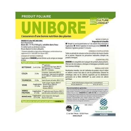 UNIBORE BIDON 10 L