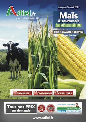 couverture catalogue maïs 2020
