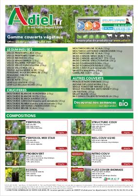 couverture catalogue couverts végétaux 2020